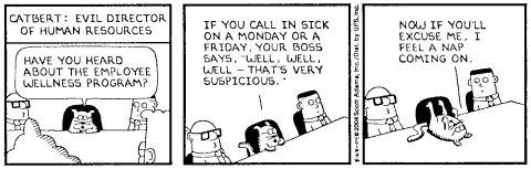 Catbert's Employee Wellness Program