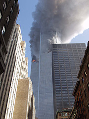 World Trade Centre Towers, NYC, 11/09/01